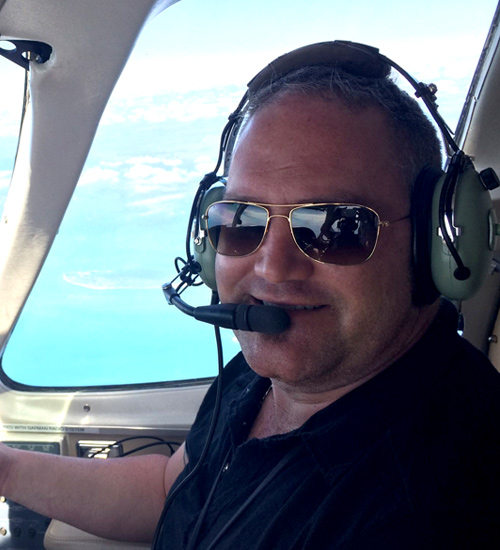 Blumoon Aviation President and Owner William B. Smith